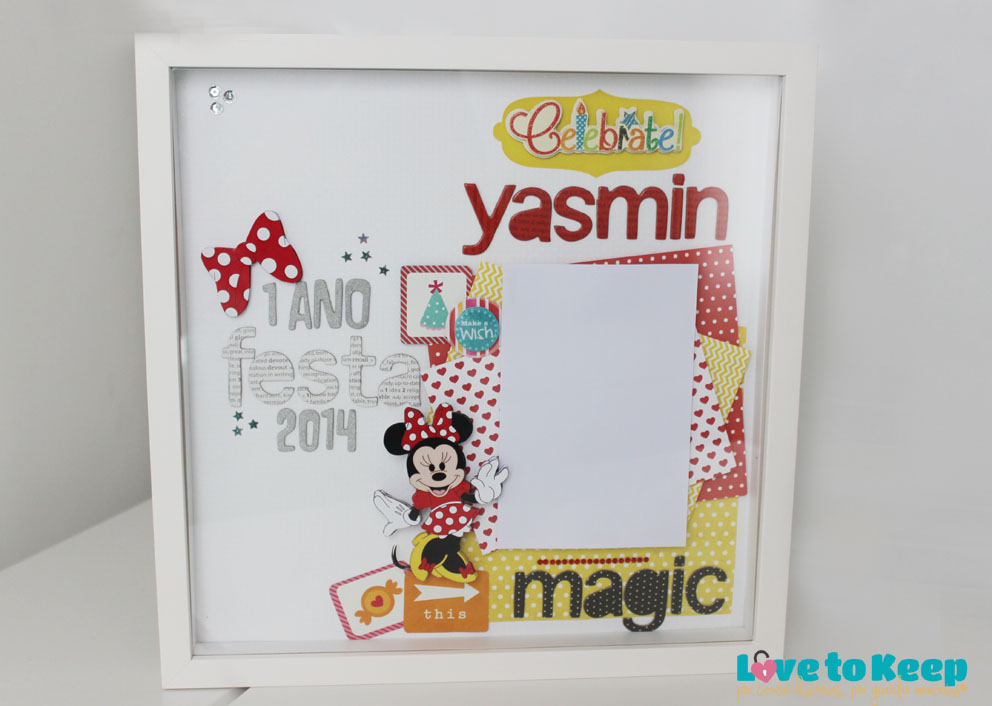 JuWruck_LovetoKeep_Scrapbook_Bebê_Baby_Girl_Layout_Quadro_Frame_Minnie_4