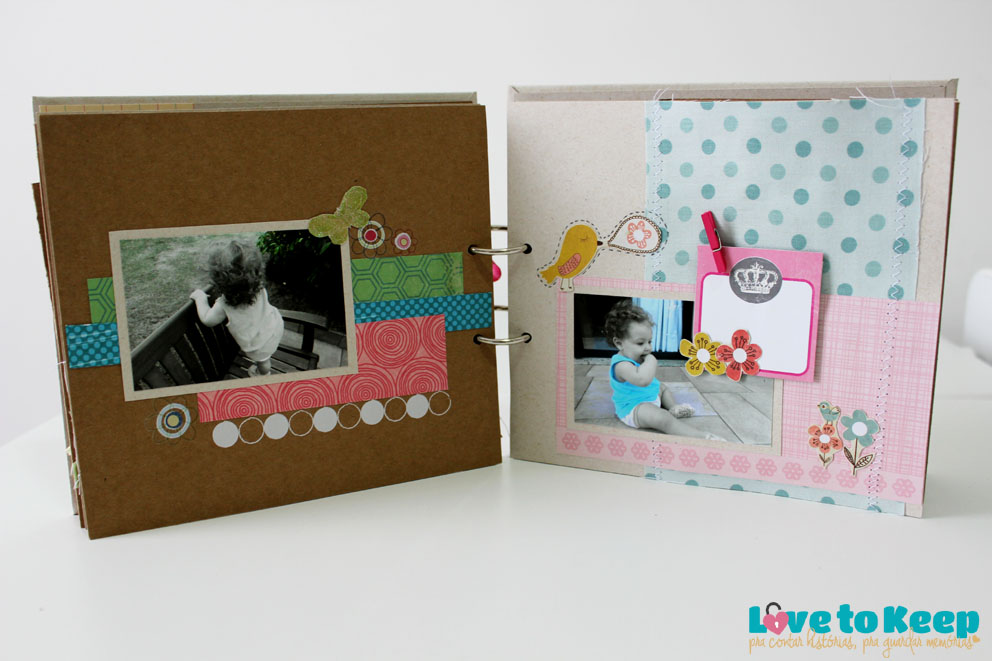 JuWruck_LovetoKeep_Scrapbook_Bebê_Baby_Girl_Mini Album Sophias Garden_12