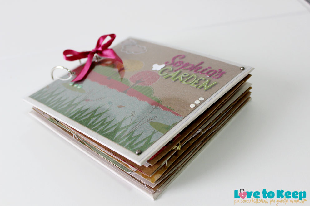 JuWruck_LovetoKeep_Scrapbook_Bebê_Baby_Girl_Mini Album Sophias Garden_3