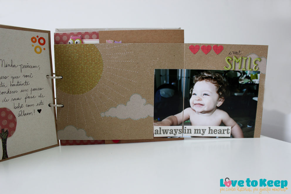 JuWruck_LovetoKeep_Scrapbook_Bebê_Baby_Girl_Mini Album Sophias Garden_7
