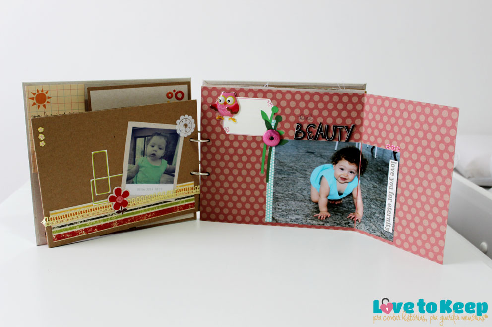 JuWruck_LovetoKeep_Scrapbook_Bebê_Baby_Girl_Mini Album Sophias Garden_9