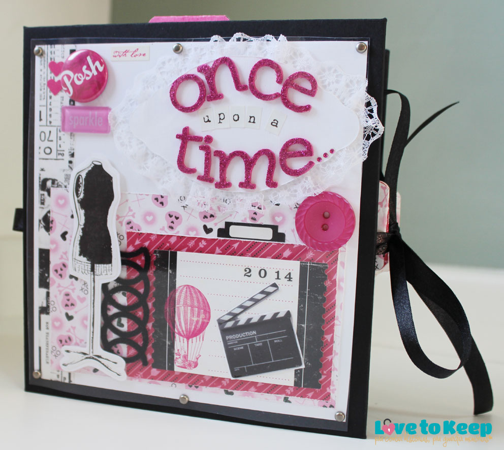 JuWruck_LovetoKeep_Scrapbook_mini album_once upon a time_01