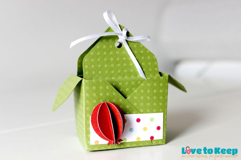 Love to Keep_ScrapFesta_Sacolinha dentro da Caixa_Decoração Mesa_Lembrança_1