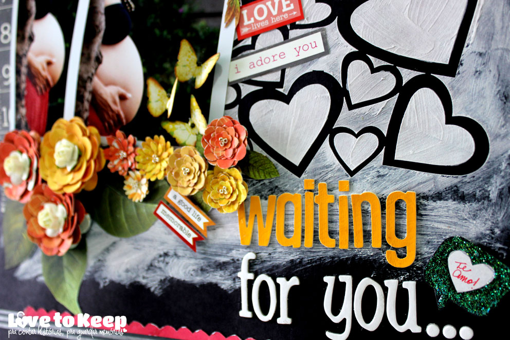 JuWruck_LovetoKeep_Scrapbook_Layout 30x30_Waiting for you_6