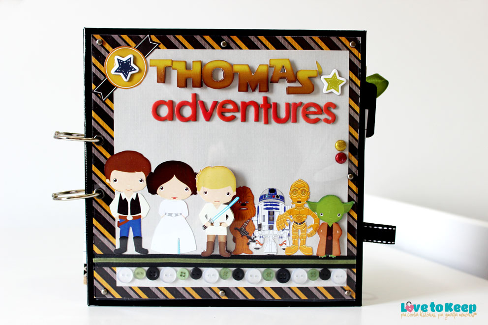 JuWruck_LovetoKeep_Scrapbook_Bebê_Baby_Boy_Star Wars_Thoma's Adventures_2