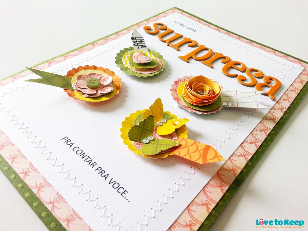 JuWruck_LovetoKeep_Scrapbook_Cartões_Card_Anúncio Gravidez_Pregnacy Annoucemnt_Bisavó_Verde_3
