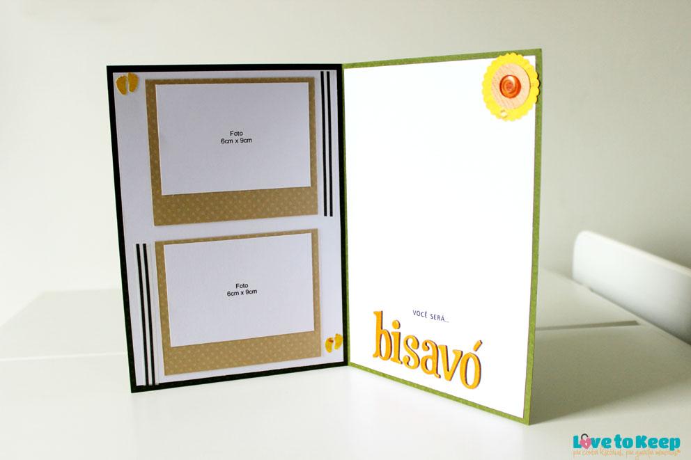 JuWruck_LovetoKeep_Scrapbook_Cartões_Card_Anúncio Gravidez_Pregnacy Annoucemnt_Bisavó_Verde_4