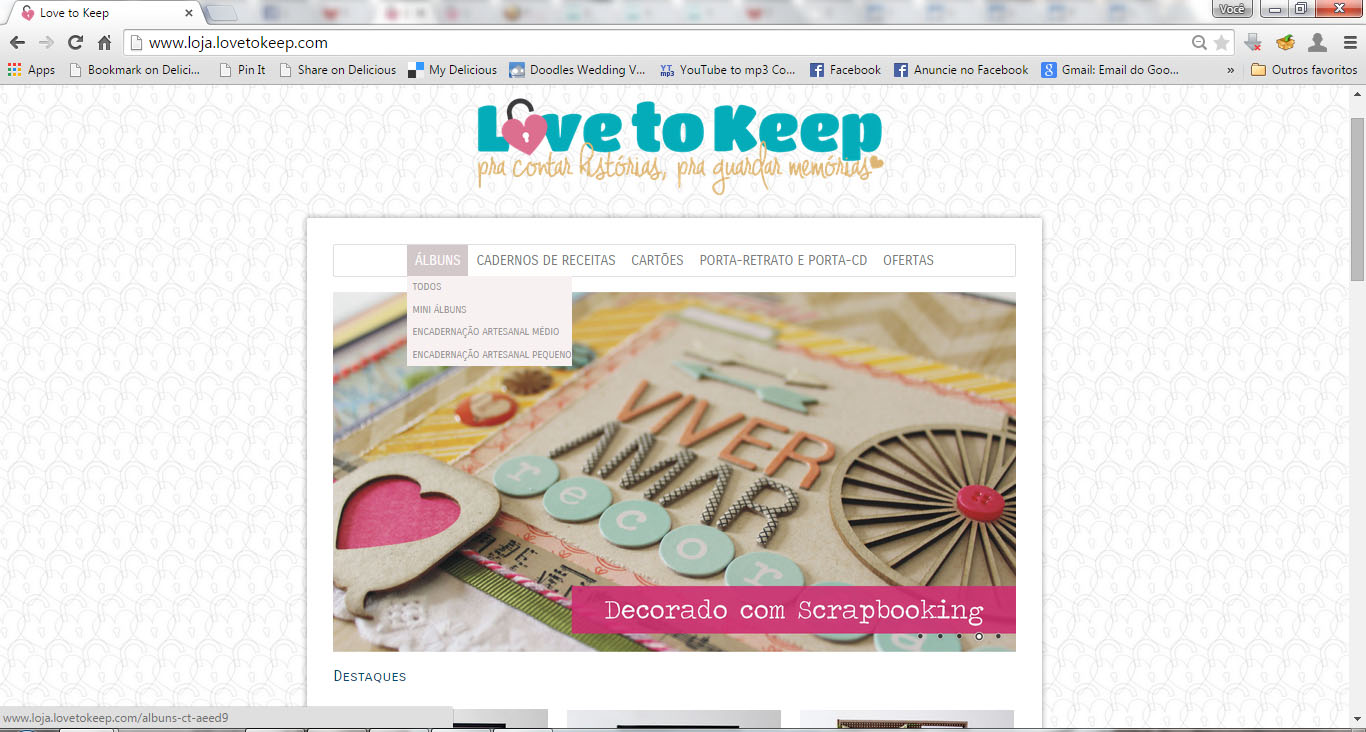 Love To Keep_Lançamento Loja Online_2