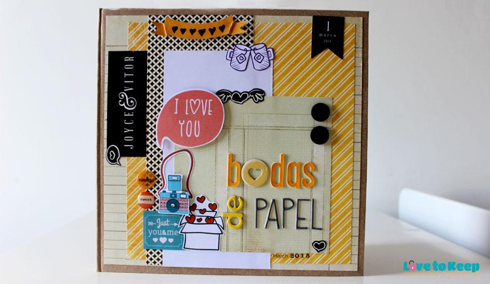 Love to Keep_Scrapbook_Lançamento_Livro de Memórias_Bodas de Papel Amarelo_1