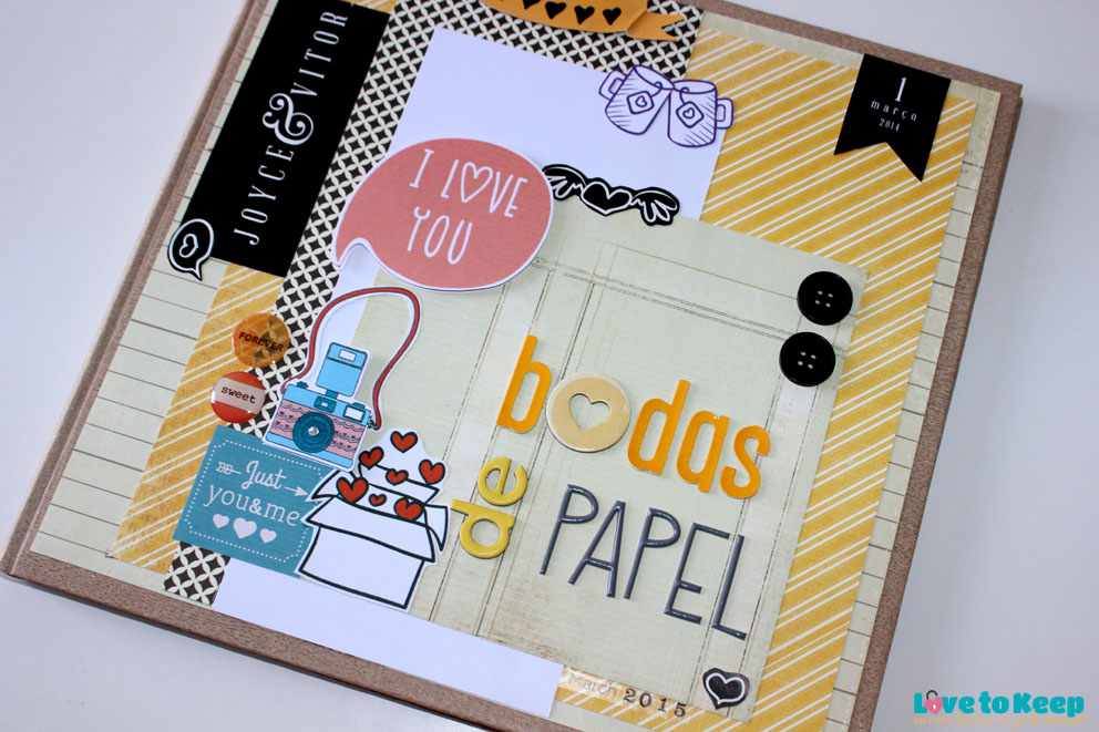 Love to Keep_Scrapbook_Lançamento_Livro de Memórias_Bodas de Papel Amarelo_2