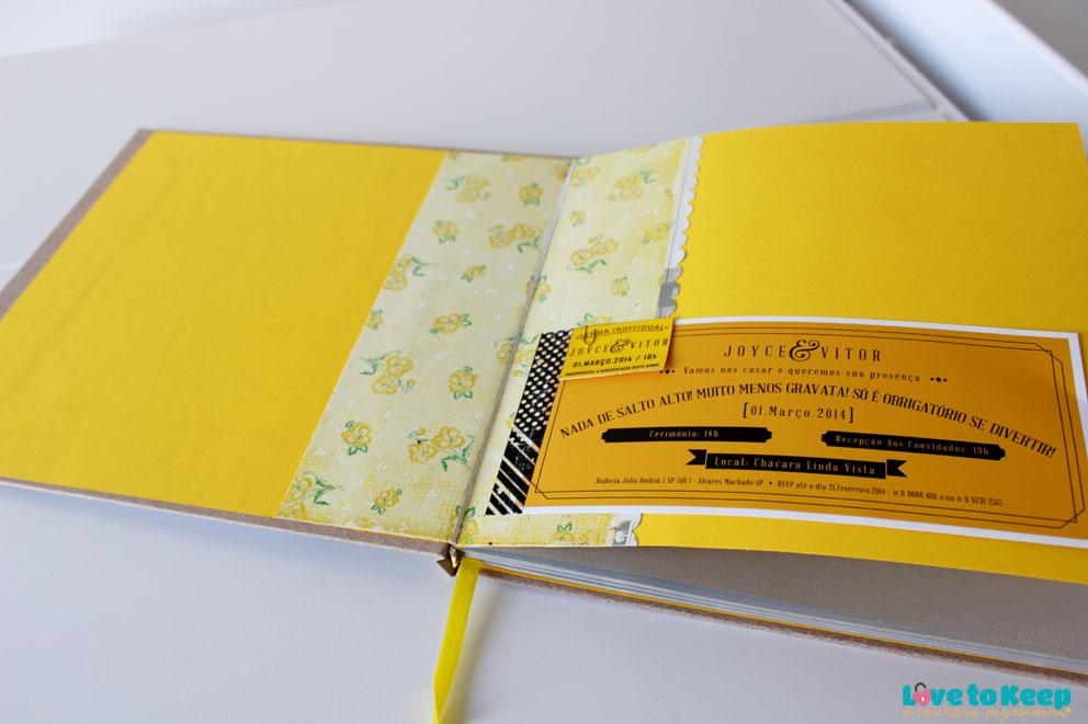 Love to Keep_Scrapbook_Lançamento_Livro de Memórias_Bodas de Papel Amarelo_9