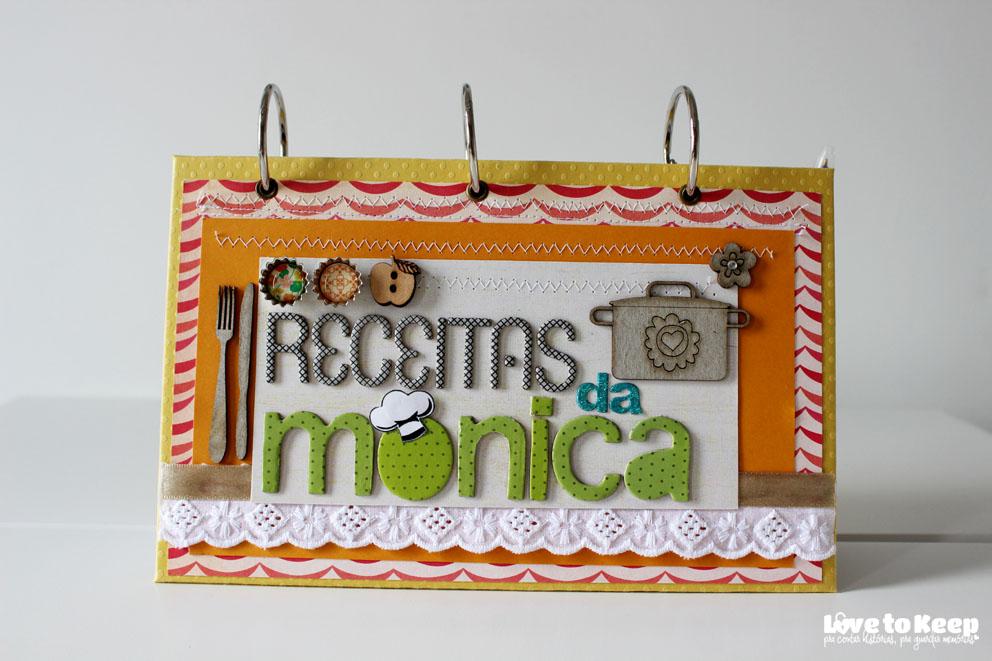 JuWruck_LovetoKeep_Scrapbook_Caderno de Receitas Personalizado_Receitas da Mônica_1