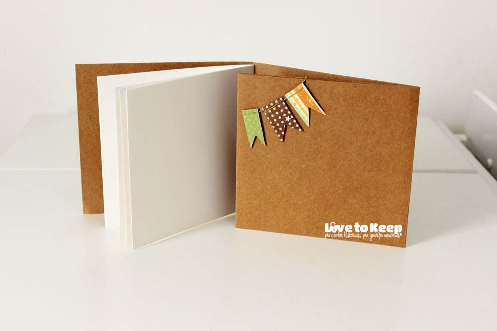Love to Keep_Scrapbook_Mini álbume  porta CD_Menino_3
