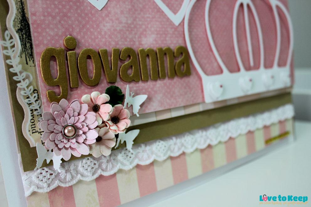 Love to Keep_Scrapbook_Quadro Porta Maternidade_Coroa_2