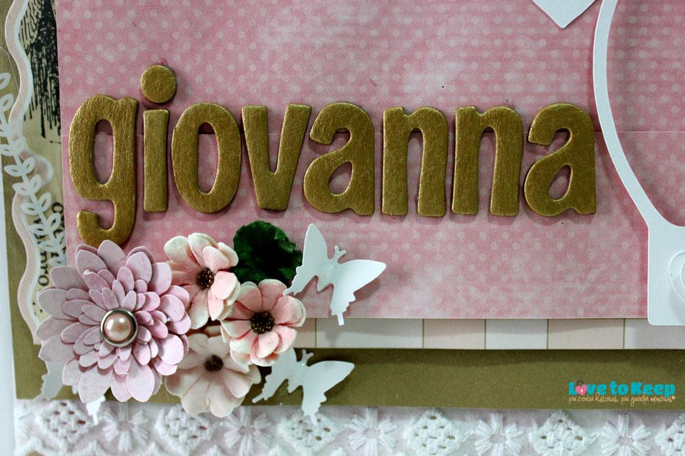 Love to Keep_Scrapbook_Quadro Porta Maternidade_Coroa_3