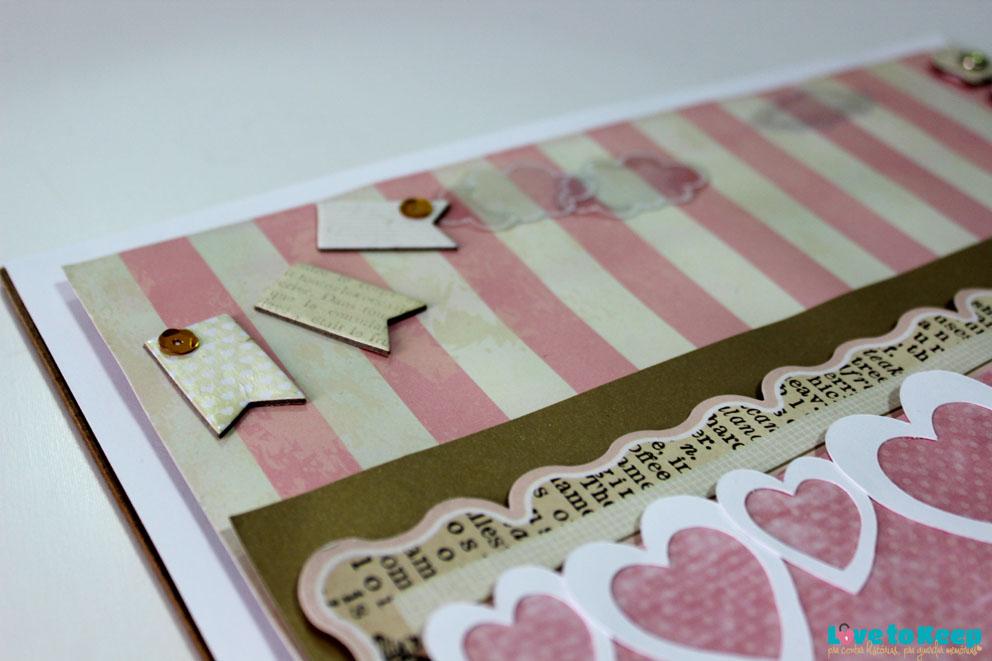 Love to Keep_Scrapbook_Quadro Porta Maternidade_Coroa_4