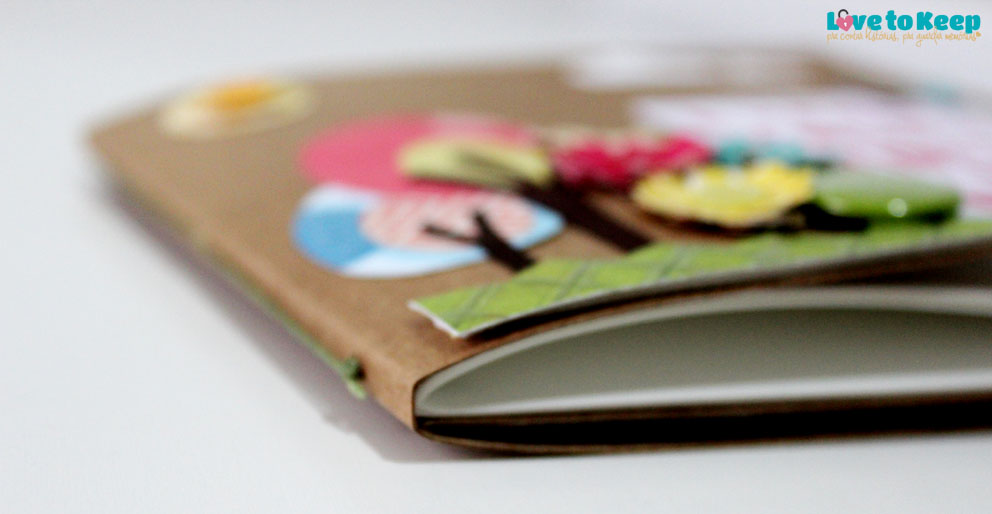 Love to Keep_Scrapbook_Mini álbum e porta Cd_A Menina que Indica Livros_7