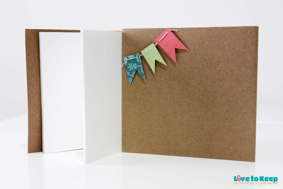 Love to Keep_Scrapbook_Mini álbum e porta Cd_A Menina que Indica Livros_Era uma vez eu_5