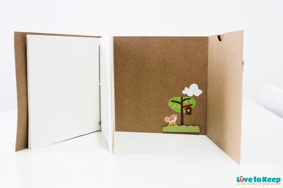 Love to Keep_Scrapbook_Mini álbum e porta Cd_A Menina que Indica Livros_Era uma vez eu_6