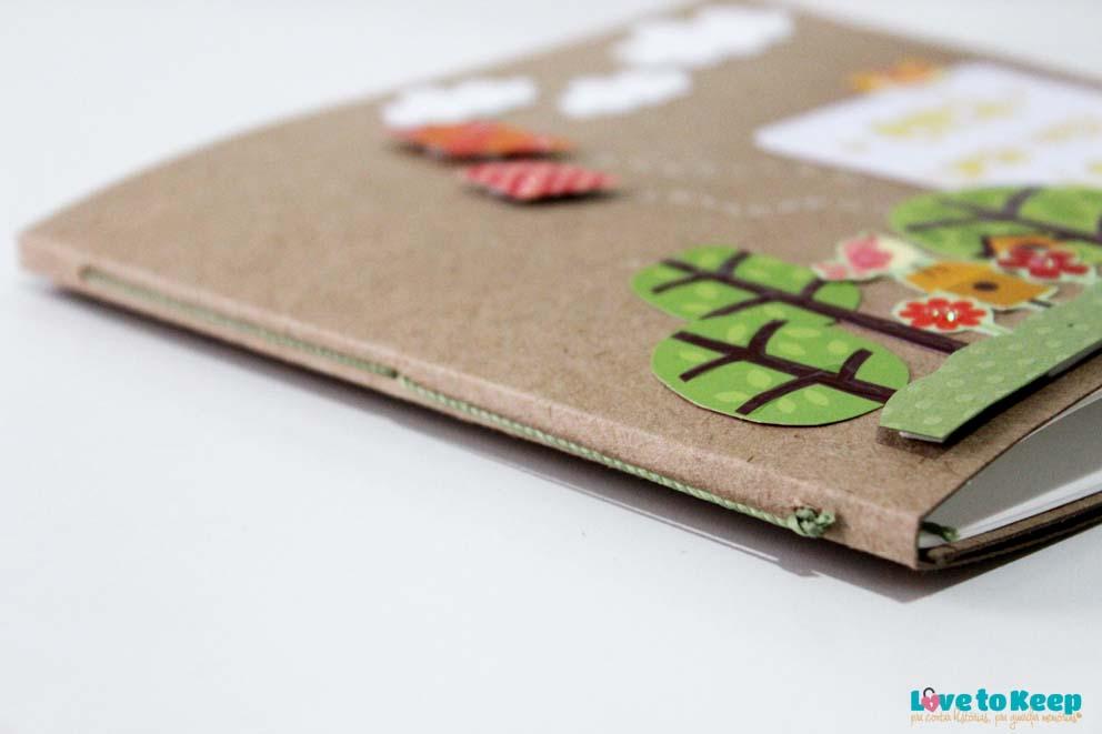 Love to Keep_Scrapbook_Mini álbum e porta Cd_A Menina que Indica Livros_Era uma vez eu_7