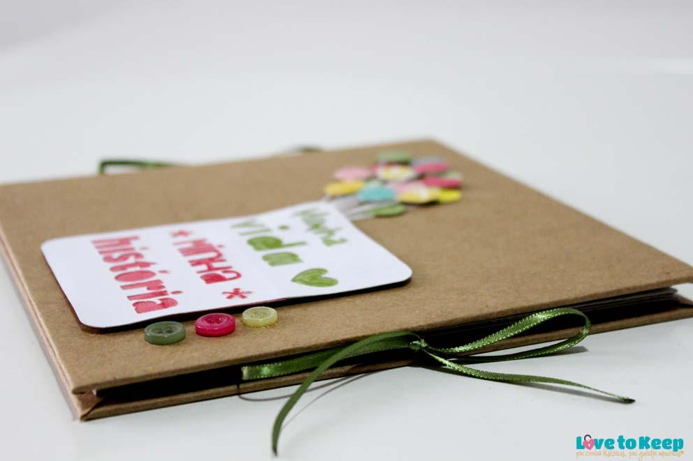 Love to Keep_Scrapbook_Mini álbum sanfonado_Minha vida Minha História_4