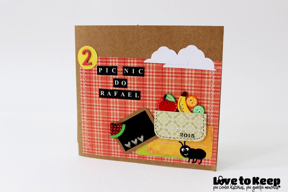 Love to Keep_Mini Álbum_Pic Nic do Rafaell_1