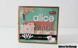 Mini Álbum personalizado da Alice – *Unindo Scrapbooking e Encadernação Artesanal*