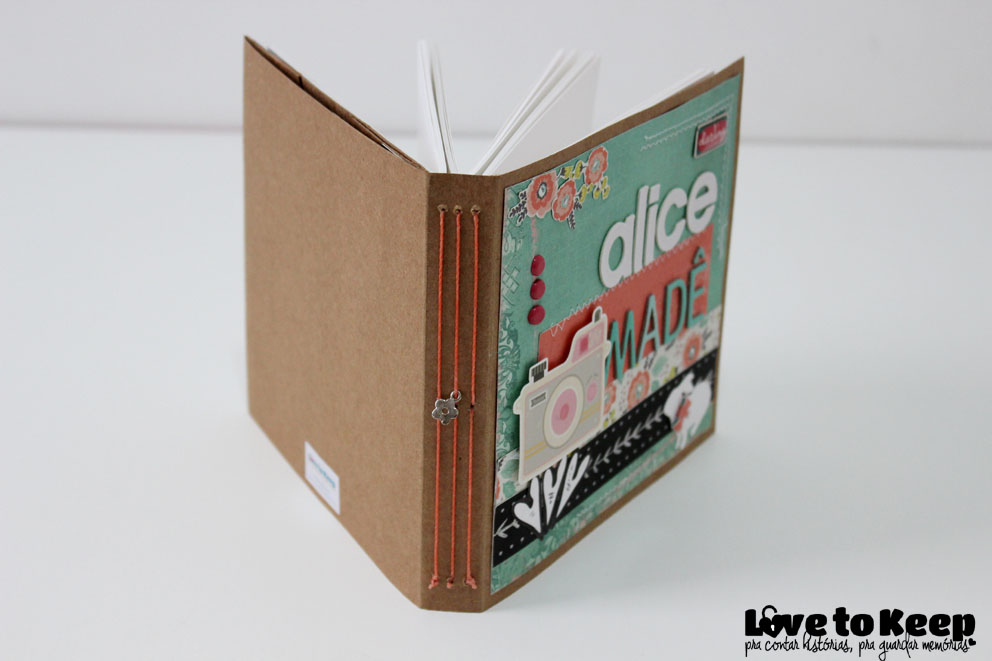Love to Kee_Scrapbook_Mini Álbum Alice Madê_13