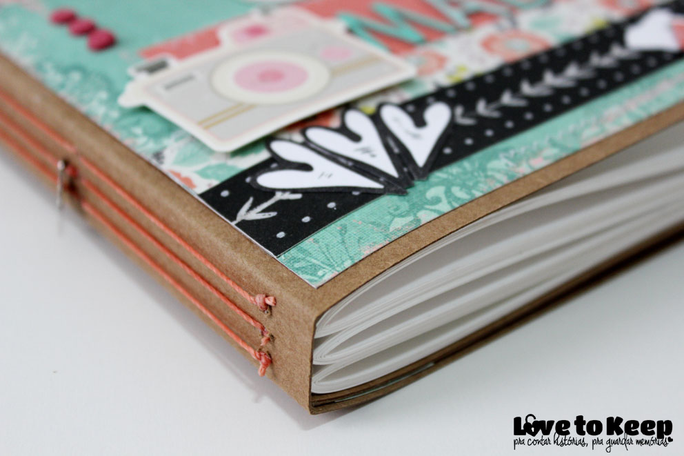 Love to Kee_Scrapbook_Mini Álbum Alice Madê_4