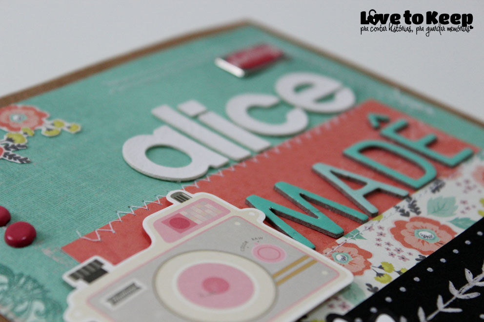 Love to Kee_Scrapbook_Mini Álbum Alice Madê_7