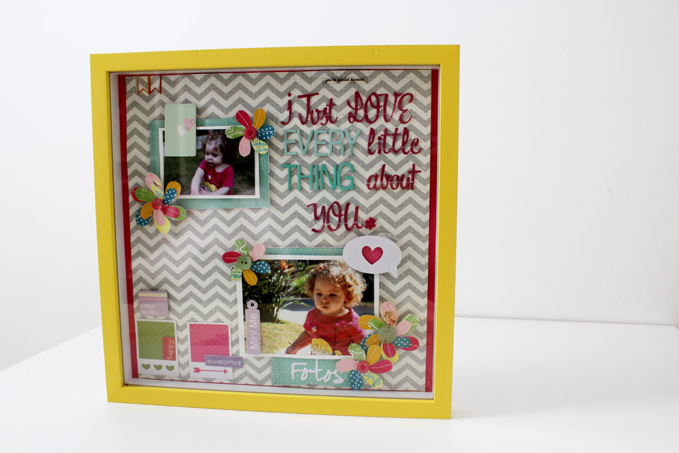 Love to Keep_Quadro Decoração_I Just love every little thing about you_2